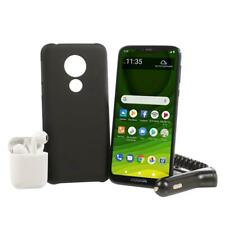 "Motorola Moto G7 6.2"" HD+ 32GB Tracfone with 1500 Min.Talk/1500Texts /1.5GB Data"