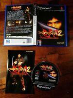 Onimusha 2 Samurai's Destiny Ps2 Eccellente Edz Spagnola Completa Gioco Italiano