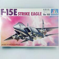Italeri 1/72 F-15E Strike Eagle USAF US Air Force McD Douglas - Plastic Kit 166