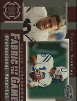 1999 Leaf Certified Fabric of the Game #FG46 Peyton Manning/1000 - NM-MT