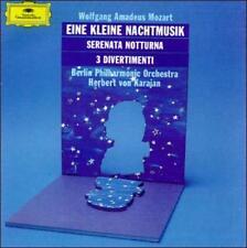 Mozart: Eine Kleine Nachtmusik; Serenata Notturna; 3 Divertimenti (Audio CD)