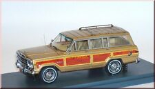 Jeep Grand Wagoneer 4x4 1991 - gold met. Holz wood or bois - NEO 43525 1:43