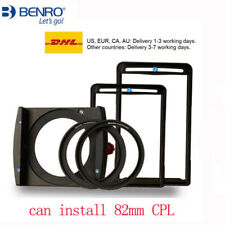 Benro FH100M2 100mm square Filter Holder Kit For 77mm 82mm Lens