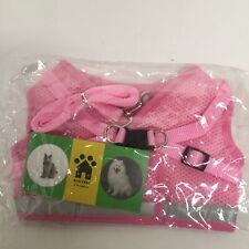 New listing Gauterf Pets Universal Harness Soft Vest Size Xl (11-14lbs) Pink