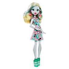 Monster High Ghoul's Lagoona Blue Daughter of Sea Monster Doll W/ Emoji Dress