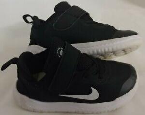Nike Toddler Free RN 2018 TDV Speed Sneakers Shoes Black AH3453-003 Sz 9c - GUC