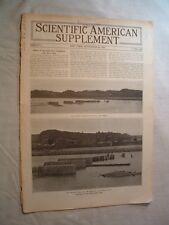 ScientificAmerican S-9/28 1912-OH River Dam Fail-Bubonic Plague-Airships Geology