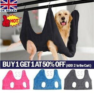 Soft Pet Cat Dog Grooming Hammock Dog Bathing Nail Trimmer Hammock Restraint Bag