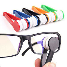 5 Pcs Glasses Sunglasses Eyeglass Spectacles Cleaner Cleaning Brush Wiper Wipe