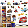 Large Disney CARS Wall Stickers Boys Lightning McQueen Kids Bedroom Decor Decals