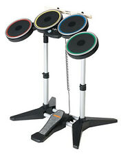 NEW PS3 Rock Band 2 Wireless Drum Kit RockBand Drums Set PlayStation 3 RARE