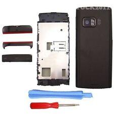 Black Fascia Full Housing Case Cover Shell Bezel Keypad for Nokia X6 X6-00 +TLs