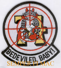 VF-74 BeDevilers PATCH US NAVY VETERAN PIN UP GIFT USS SARATOGA F14 TOMCAT BABY