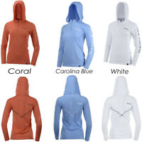 Huk H6120019, Ladies Icon X Hoodie, Coral, Caralina Blue or White