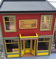 G SCALE GENERAL STORE KIT- COOL INTERIOR TOO!