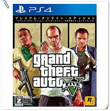PS4 Grand Theft Auto 5 Premium Edition GTA V SONY Action Rockstar Games