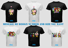 Pikmin 2 3 NES N64 Nintendo Gamecube Wii U DS 3DS Video Game Men Shirt Tee Black