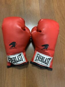 Classic Everlast Red Boxing Gloves Size 7 Made In USA