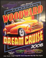 2008 Woodward Dream Cruise Poster