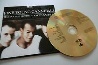 Fine Young Cannibals Die Raw Und Die Cooked Sampler CD + CD Video 4 Titel