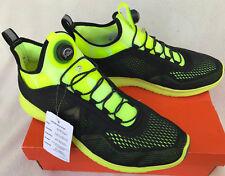 Reebok PT BD4864 The Pump Plus Tech Black Solar Marathon Running Shoes Men's 11