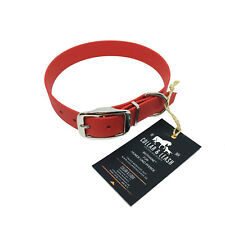 Biothane Collar for Dogs IN 25 MM - Dog Collar - all Sizes! Red