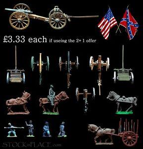 AMERICAN CIVIL WAR > 28mm ARTILLERY etc. > BUY 2 get 1 MORE FREE ! - see notes.