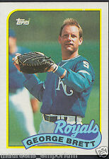 Topps 1989 Baseball Card - No 200 - George Brett - Royals