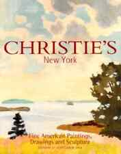 CHRISTIE'S NEW YORK FINE AMERICAN PAINTINGS, DRAWINGS AND SCULPTURE