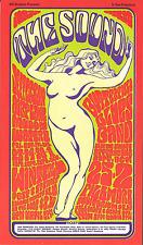 Jefferson Airplane Muddy Waters Butterfield Concert Fillmore Handbill Pc 1966