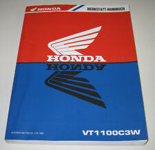 Werkstatthandbuch Honda VT 1100 C3W Motor Getriebe Elektro Schmiersystem 1998!