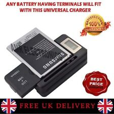 LCD Display Universal External Mobile Phone Battery Desktop Charger Kit USB Port