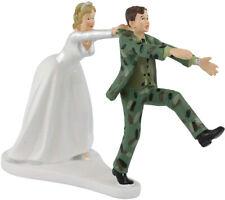 Wilton Camo Groom Bride Wedding Cake Topper