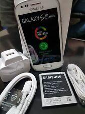 Samsung Galaxy S3 Mini 3G Sim Teléfono Móvil Libre Blanco Nuevo Y En Caja