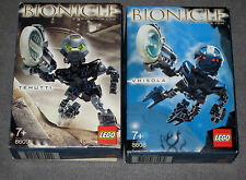 Lego 8608/8609 Bionicle Vhisola/Tehutti complet