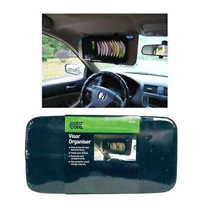 Auto Care Car Sun Visor Organiser Multi Pocket CD Business Card Holder Wallet