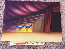 PINK PANTHER HIGHLY DETAILED HAND PAINTED BACKGROUND ORIGINAL ANIMATION CEL