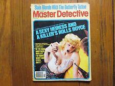 "Nov., 1979   ""Master   Detective""  Magazine  (FLOYD  B.  NEWBERRY/GLORIA  OLSON)"