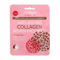 Derma V10 Anti Ageing Woven Face Mask Collagen