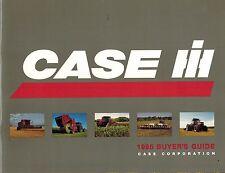 "CASE INTERNATIONAL BUYER'S GUIDE ""NEW"" 1995"