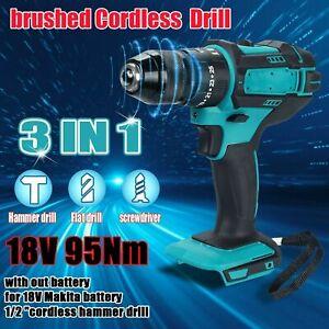 For Makita Cordless Drill Electric Combi Impact Driver Screwdriver 18V LXT Body