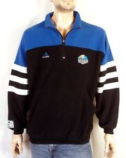 RARE vtg 90s Adidas MLS Soccer Kansas City Wizards Fleece Jacket rainbow logo M