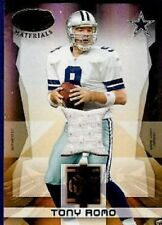 TONY ROMO 2008 LEAF CERTIFIED GOLD TEAM GAME JERSEY#250