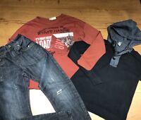 LOT GARÇON 10 ANS N° 9 : T Shirt + Pull + Jean Zara Bikool