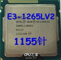 Intel Xeon E3-1265L v2 2,5 GHz 4-Core Prozessor SR0PB Sockel H2 1155 CPU 45W