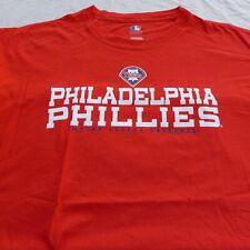 Philadelphia Phillies T Shirt 3XL Baseball Cotton