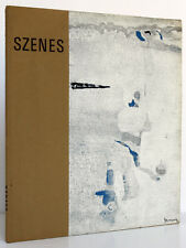 Arpad SZENES. Éditions Jeanne Bucher, 1963 / CATALOGUE D'EXPOSITION