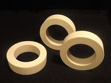 LARGE STEATITE L-5 WASHER-SPACER ELECTRICAL RING INSULATOR No.: 324