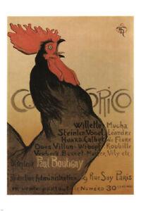 vintage ad poster EXHIBITION Théophile Alexandre Steinlen France 24X36 RARE