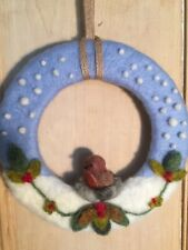 BEGINNER'S NEEDLE FELTING KIT  Christmas Robin Wreath   Claire's Crafts
